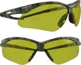 Jackson Nemesis CAMO Frame Safety Glasses with Amber Anti-Fog Lens
