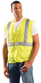 Occunomix Class II Cooling Vests Lime with Silver Stripes