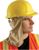 Occunomix #971-KHK Safety Helmet Khaki Neck Shade
