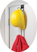 Rackems #5008 Safety Helmet Over the Door Rack 2 Hooks