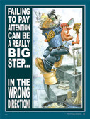 Pay Attention Safety Poster - 18X24
