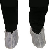 Polypropylene Heavy Duty Jumbo Shoe Cover, Anti Skid, Extra Tall, WHITE (150 Pair)