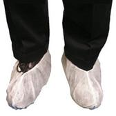 Polypropylene Heavy Duty Jumbo Shoe Cover, Extra Tall, WHITE (150 Pair)