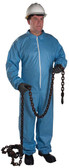 Posiwear FR Flame Resistant Suit w/ Hood, Elastic Wrists and Ankles (25 per case), Size 5XL