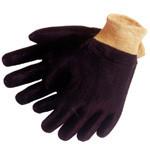 PVC Gloves w/ Rough Finish & Knit Wrist (per dozen)