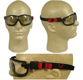 Pyramex V2G Safety Goggles with Indoor/Outdoor Lens