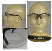 Pyramex Venture II Readers Safety Glasses - Clear Lens w/2.0