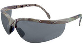 Radians Realtree HW Series Safety Glasses with Silver Mirror Lens