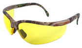 Radians Realtree HW Series Safety Glasses with Amber Lens