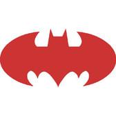 Reflective Safety Helmet Decals with Custom Design - Bat