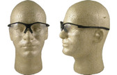 Pyramex Fortress safety glasses Black Frame with Clear lens