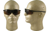 Pyramex Fortress safety glasses Black Frame with Coffee Lens