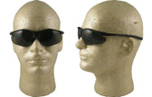 Pyramex Fortress safety glasses Black Frame with Smoke Lens