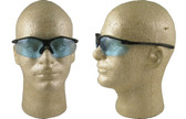 Pyramex Fortress safety glasses Black Frame with Infinity Blue Lens