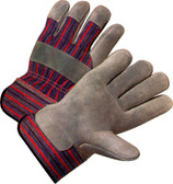 Single Palm Work Glove  with Standard Cuff (BY THE PAIR)