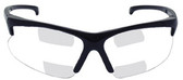 Olympic Optical 30.06 DUAL READER Safety Glasses with 2.0 Clear Lens