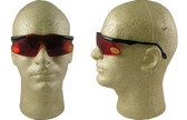 Smith & Wesson Mini Magnum Safety Glasses with Copper Blue Blocker Lens