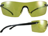 Smith & Wesson Caliber Safety Glasses Black Frame with Amber Anti-Fog Lens