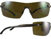 Smith & Wesson Caliber Safety Glasses Brown Frame with Brown Anti-Fog Lens