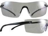 Smith & Wesson Caliber Safety Glasses Black Frame with Clear Anti-Fog Lens
