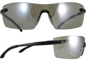 Smith & Wesson Caliber Safety Glasses Black Frame with Indoor-Outdoor Anti-Fog Lens