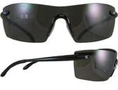 Smith & Wesson Caliber Safety Glasses Black Frame with Smoke Anti-Fog Lens