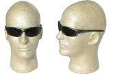 Smith & Wesson Equalizer Safety Glasses with Gun Metal Frame, Smoke Anti-Fog Lens