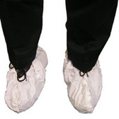 Sunsoft Impervious 2 layer Jumbo Shoe Cover, Extra Tall, WHITE (150 Pair)