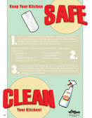 Clean Your Kitchen Poster (18 by 24 inch)