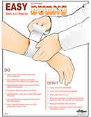 Prevent Burns Poster (18 by 24 inch)