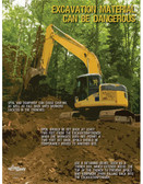 Excavation & Trenching Safety Poster (18 by 24 inch)