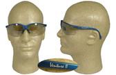 Pyramex Venture II Safety Glasses, Blue Frame - Indoor Outdoor Lens