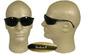 Pyramex Venture II Safety Glasses, Black Frame - 5.0 Lens