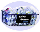 Wire Basket for Safety Glasses, Goggles, Hearing Protection