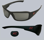 Edge Brazeau Safety Glasses Torque Frame, Smoke Lens
