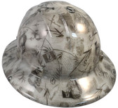 Hydro-Dipped-FULL BRIM-GLOW IN THE DARK-Hard Hats-Ratchet Suspension-POW