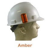 ERB #10030 Safety Helmet Blinking Lights - Amber