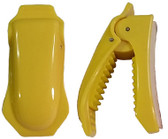 ERB #15642 Safety Helmet Eyewear Clips Yellow