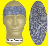 Occunomix #940-BDM Miracool Cooling Bandannas Blue Denim Color