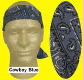 Occunomix #940-CBL Miracool Cooling Bandannas Cowboy Blue Color