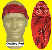 Occunomix #940-CRD Miracool Cooling Bandannas Cowboy Red Color