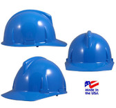MSA # 475380 Topgard Protective Caps with Fas-Trac Liners Blue