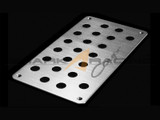 Coupe Aluminum Heel Plate