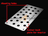 2014+ Forte-K3 Aluminum Heel Plate