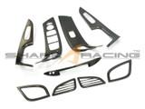 2011-2013 Elantra Carbon Fiber Style Interior Overlay Kit