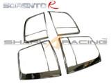 2011-2012 Sorento Chrome Tail Light Molding Kit