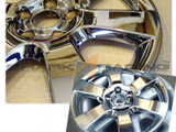 07-10 Santa Fe Chrome Wheel Covers