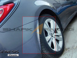 2010-2012 Genesis Coupe Painted Mudguards