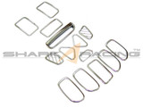 07-10 Elantra Chrome Interior Kit