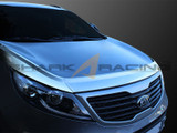 2011-2014 Sportage Chrome Hood Guard Kit
